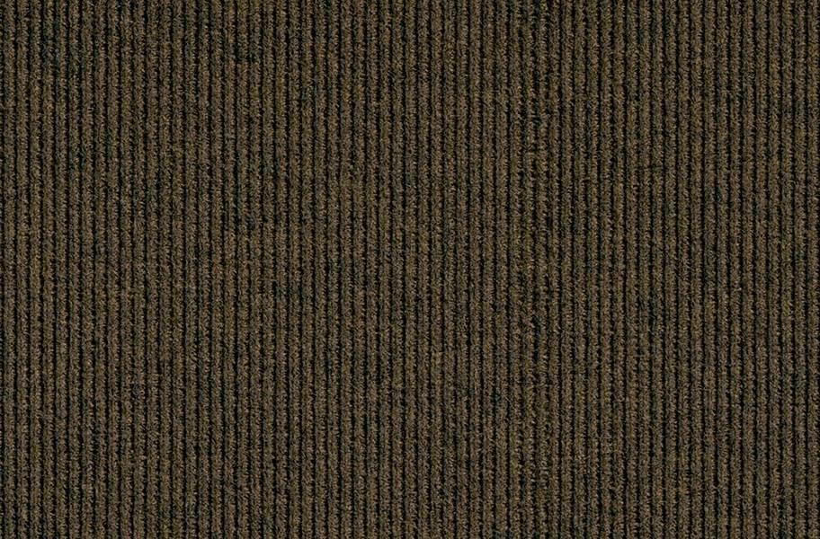 Peel & Stick Walk Off Tiles - Mahogany Rib