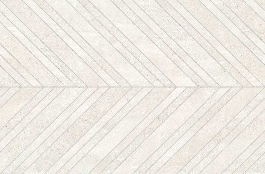 Emser Tile Uptown Chevron - Sugar Hill