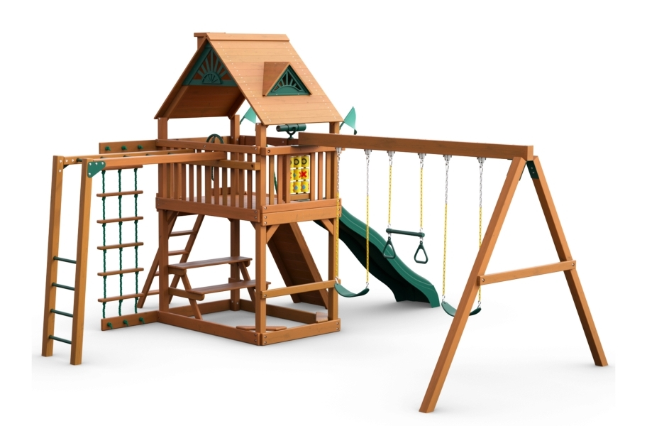 Navigator Playset - Standard Wood Roof