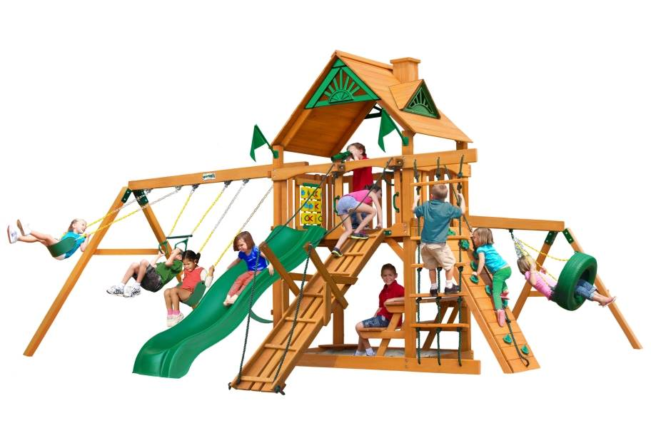 Frontier Playset - Standard Wood Roof
