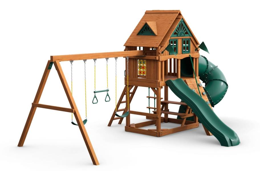 Mountaineer Playset - Treehouse with Fort add-on