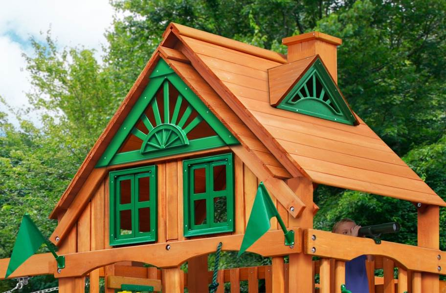 Mountaineer Playset - Treehouse