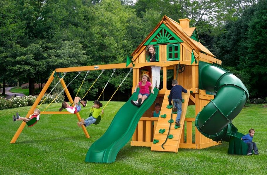 Mountaineer Clubhouse - Treehouse with Fort add-on