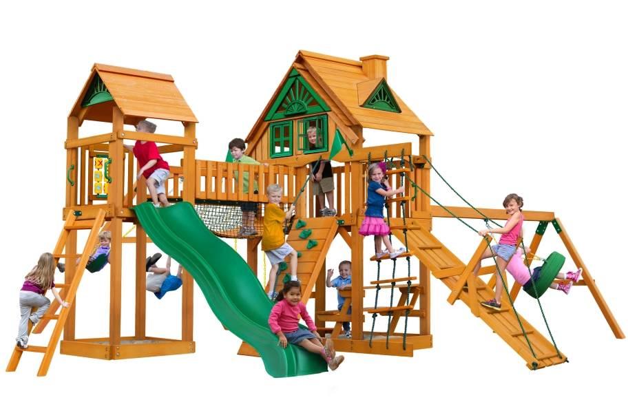 Pioneer Peak Playhouse - Treehouse