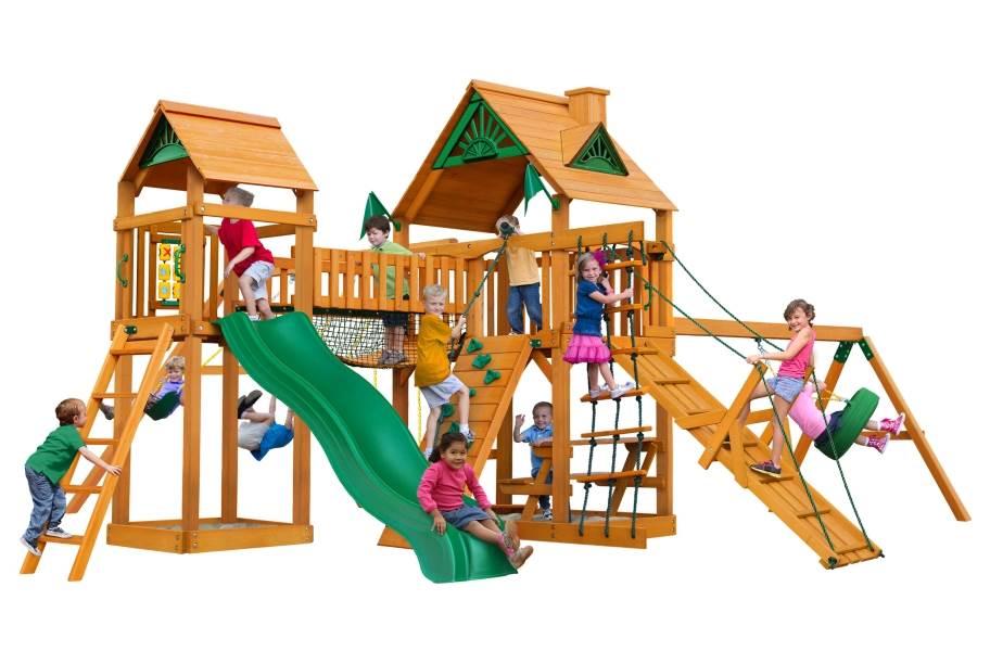 Pioneer Peak Playhouse - Standard Wood Roof