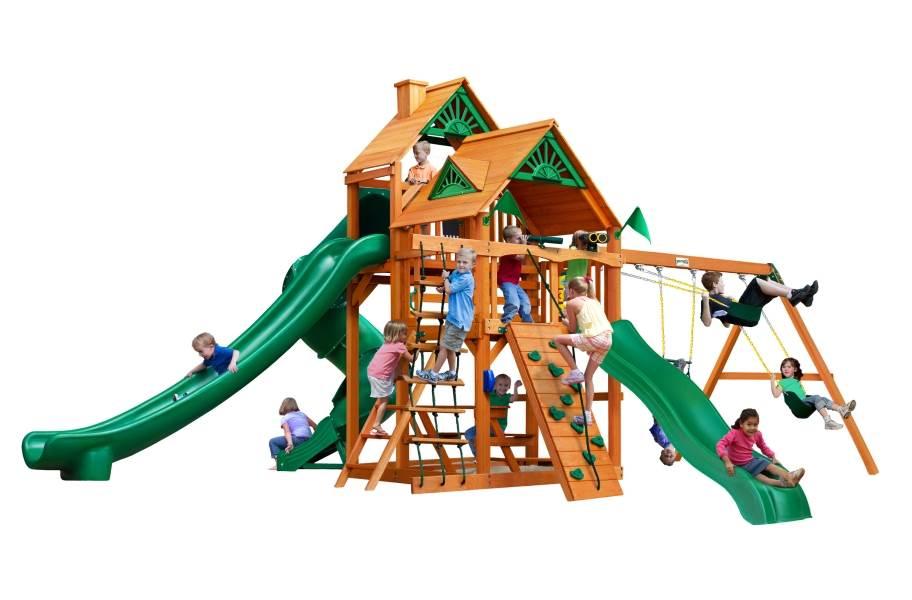 Great Skye II Playhouse - Standard Wood Roof