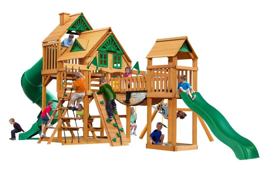 Treasure Trove Playhouse - Treasure Trove Playhouse Treehouse