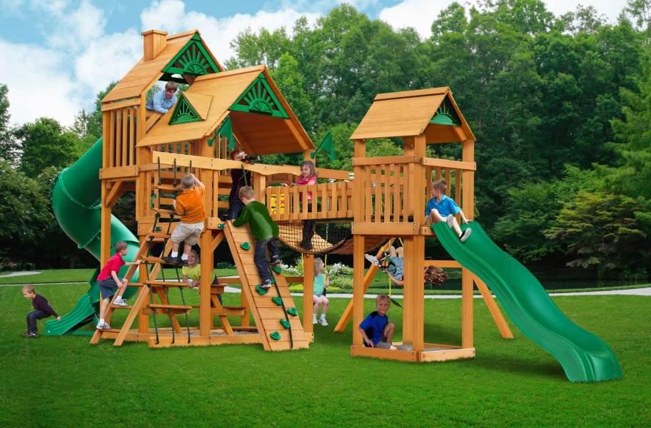 Treasure Trove Playhouse - Standard Wood Roof