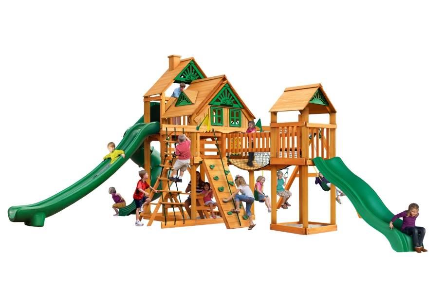 Treasure Trove II Playhouse - Treehouse