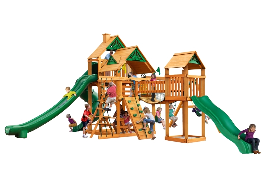 Treasure Trove II Playhouse - Standard Wood Roof