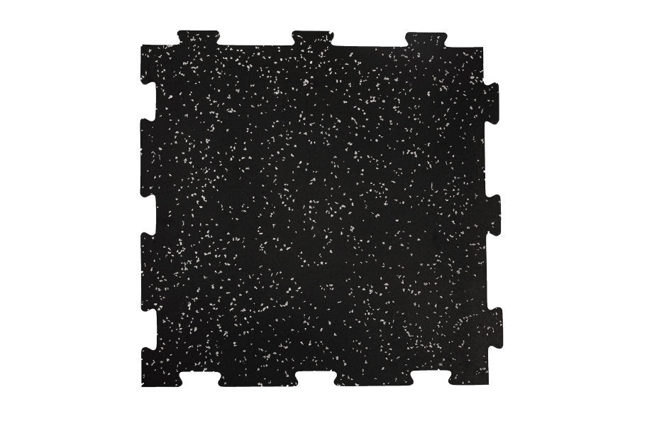 8mm Titan Rubber Tile 4-Pack - Center Tile