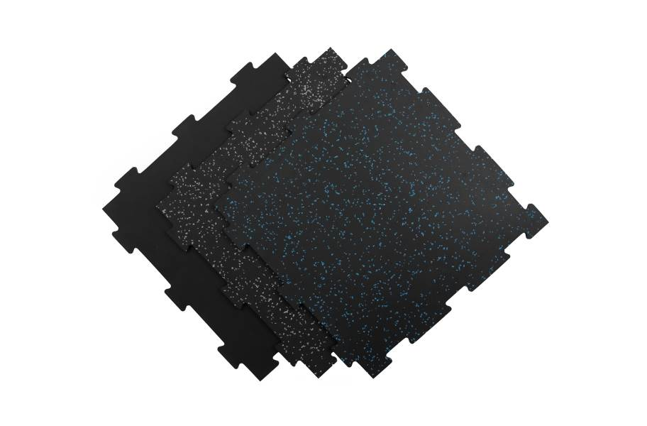 8mm Titan Rubber Tile 4-Pack