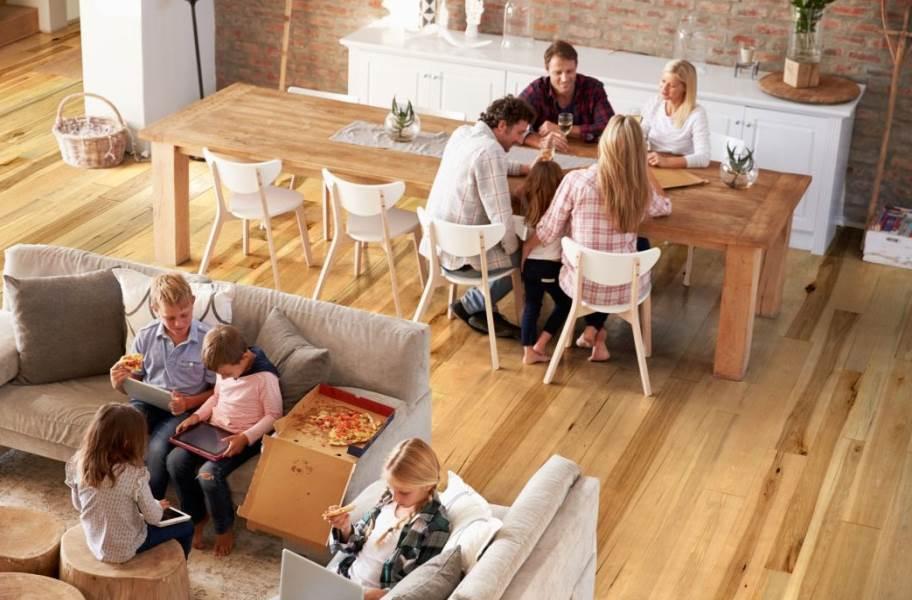 Johnson Hardwood Toscana Hickory Engineered Wood - Side