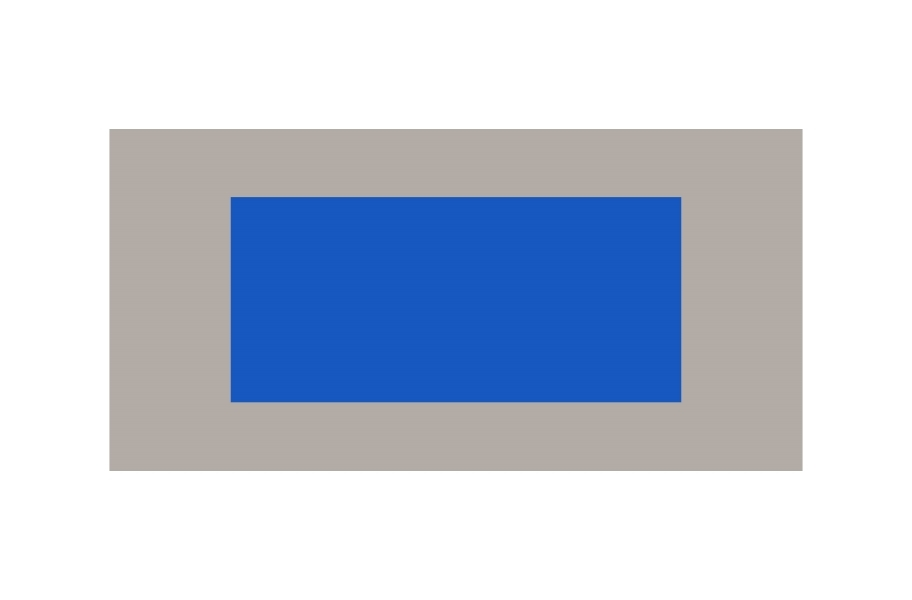 Outdoor Tennis Court Kit - 60' x 120' - Shelby Blue/Graphite without Lines