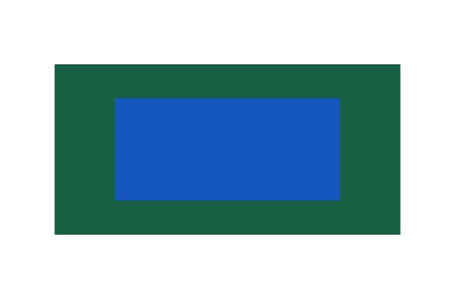 Outdoor Tennis Court Kit - 60' x 120' - Shelby Blue/Evergreen without Lines