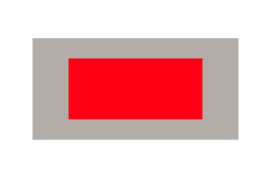 Outdoor Tennis Court Kit - 60' x 120' - Victory Red/Graphite without Lines