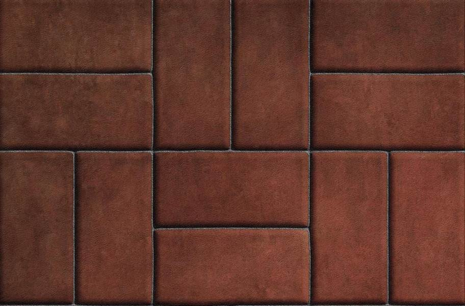 Stone Flex Tiles - Mosaic Collection - Brick Red