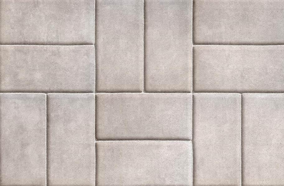 Stone Flex Tiles - Mosaic Collection - Brick White