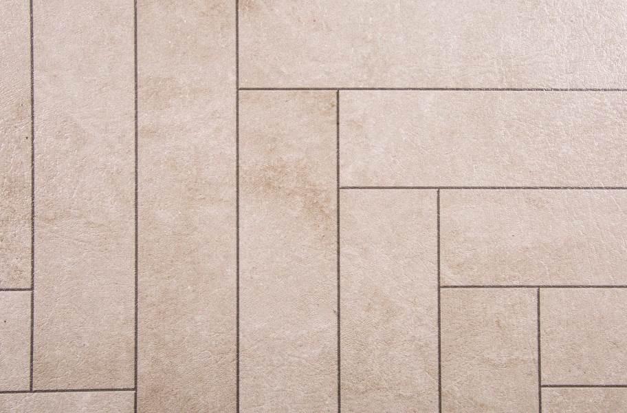 Stone Flex Tiles - Mosaic Collection - Chevron Endstone