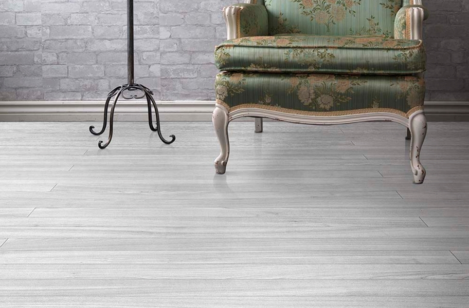 Wood Flex Tiles - Mystic Plank Collection - Gray Oak