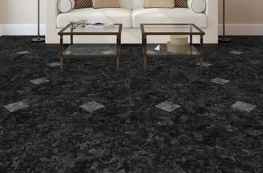 Stone Flex Tiles - Breccia Collection - Notte