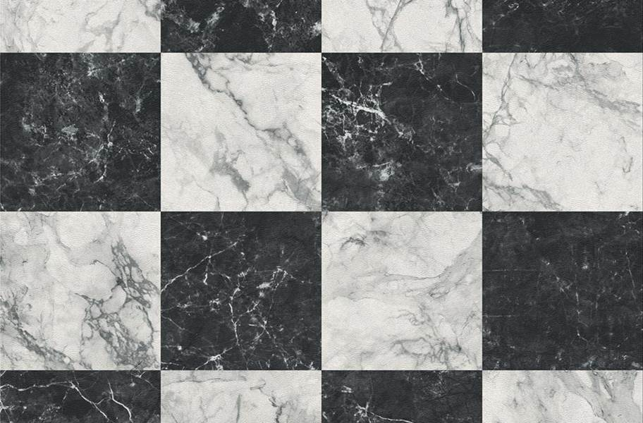 Stone Flex Tiles - Gemstone Collection - Black/White Marble 5