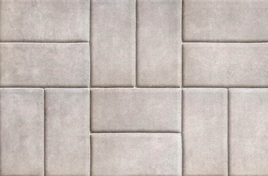 Stone Flex Tiles - Mosaic Collection - Brick White
