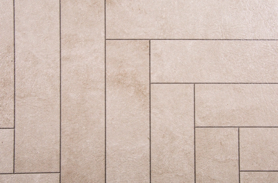 Stone Flex Tiles - Mosaic Collection - Chevron Endstone