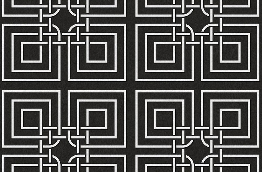 Geo Flex Tiles - Master Knot Black
