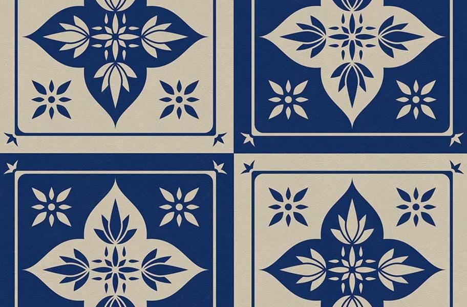 Geo Flex Tiles - Blue Lotus
