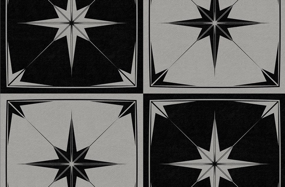 Geo Flex Tiles - Astral Gray
