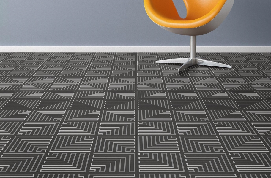 Geo Flex Tiles - Deco Zag