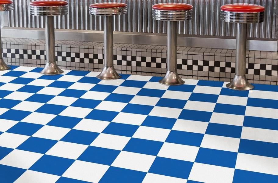 Soda Shoppe Flex Tiles - Black and Blue