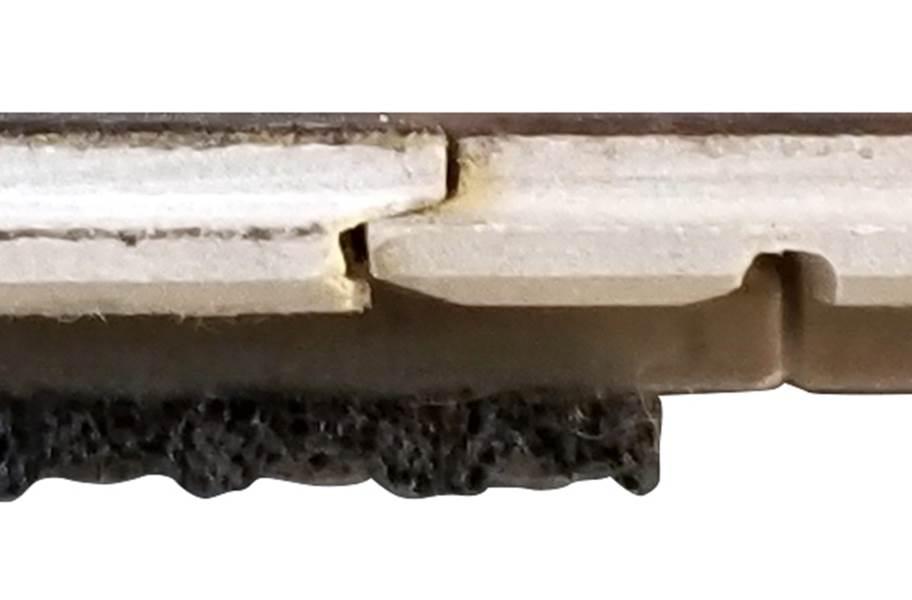 Rio Grande Water Resist Maple Engineered Wood - Back