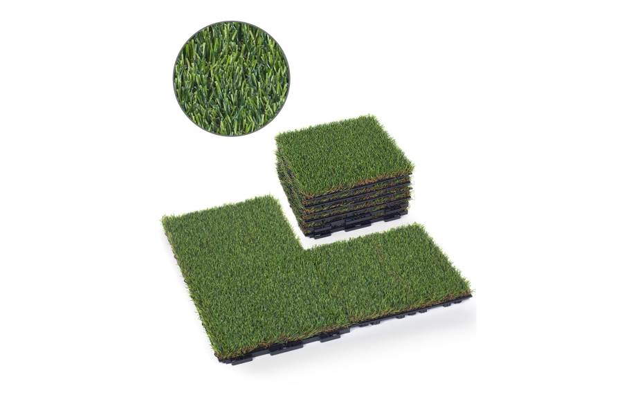 Premium Artificial Grass Deck Tiles