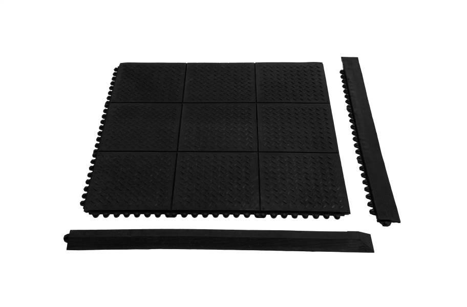 """5/8"""" Diamond Plate Evolution Rubber Tiles"""
