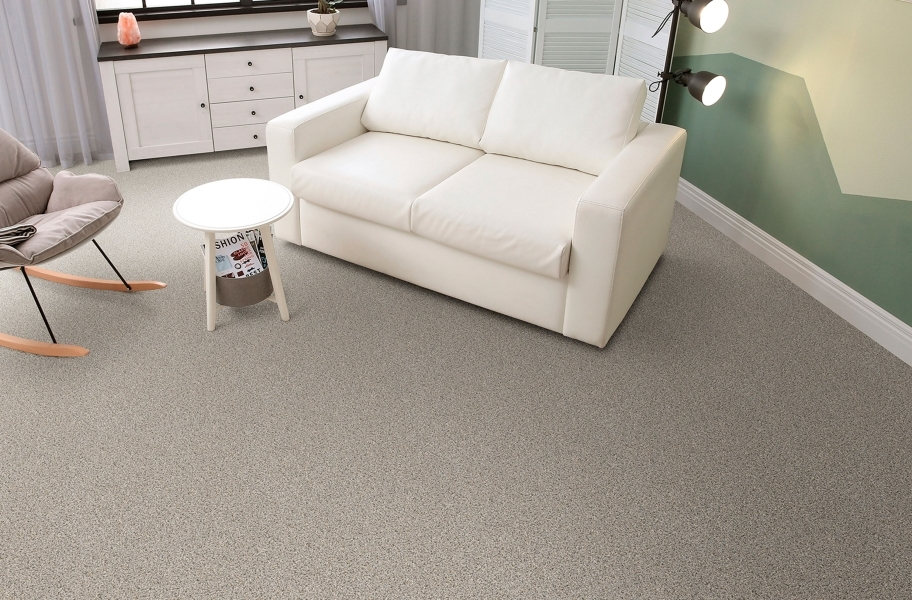 In a Snap Carpet Tile with Pad - Stonehenge