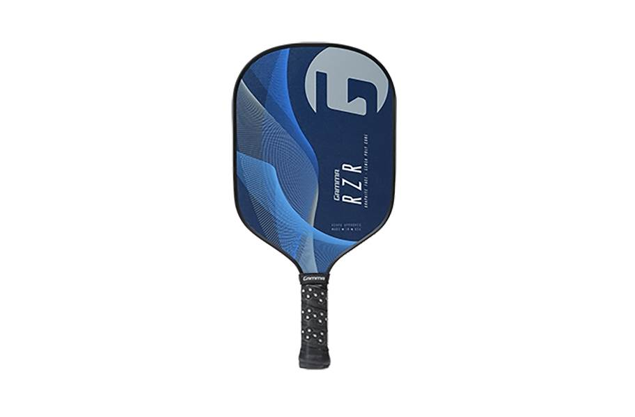 Gamma RZR Premium Poly Core Paddle - Blue/Grey