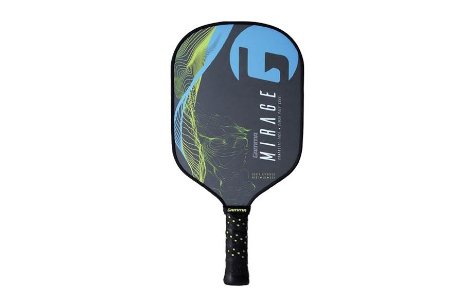Gamma Mirage Pickleball Paddle - Blue/Yellow
