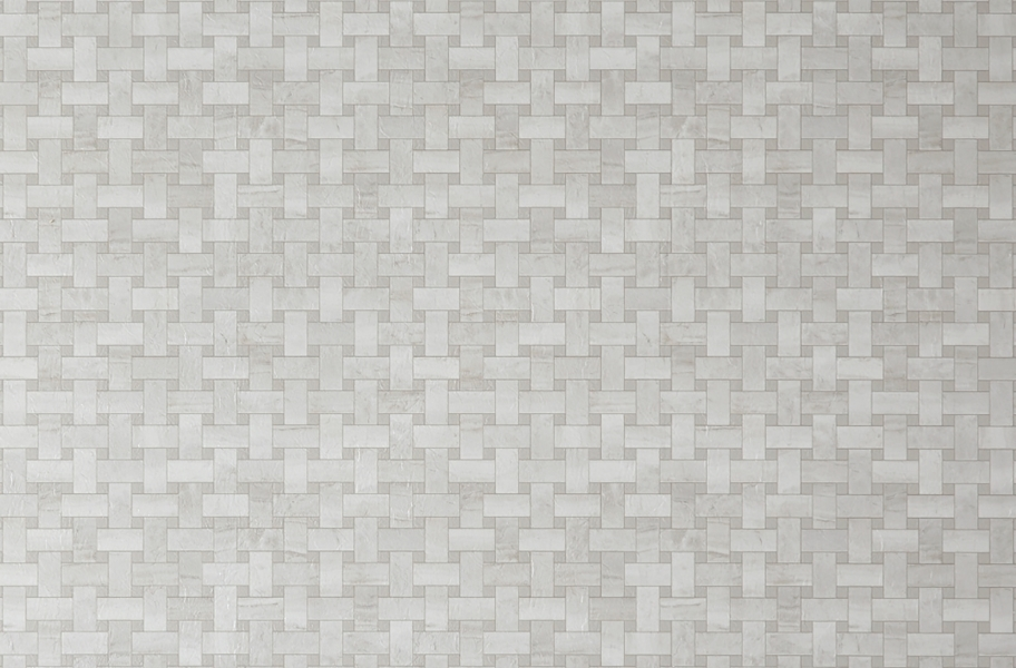 Mannington Benchmark 6' Vinyl Sheet - Lattice Gardenia