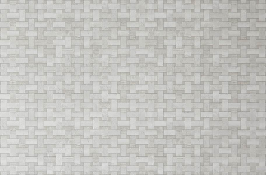 Mannington Benchmark 12' Vinyl Sheet - Lattice Gardenia