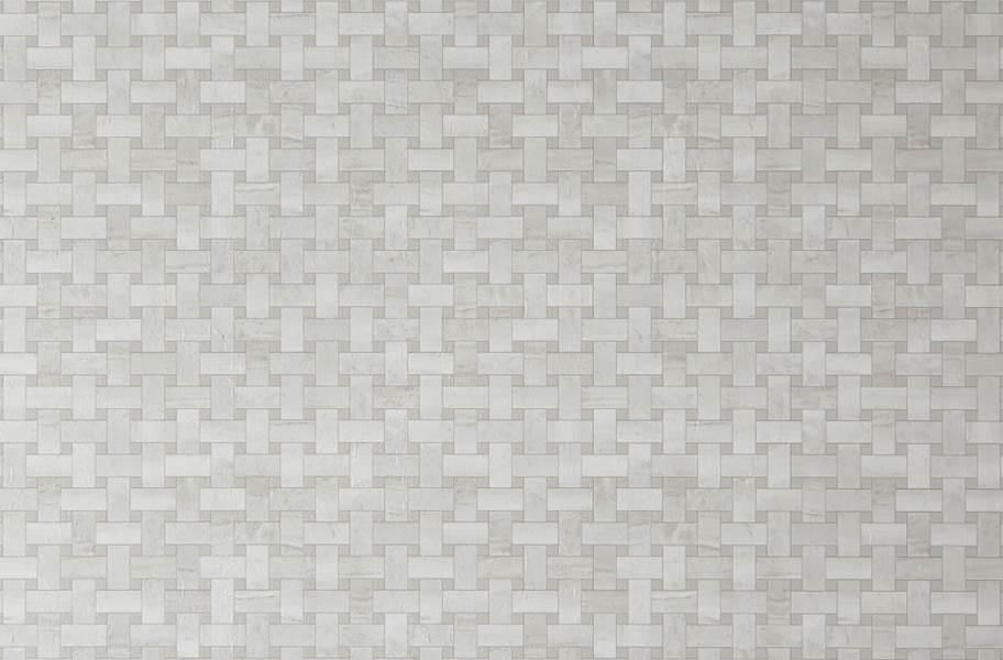 Mannington Benchmark 6' Vinyl Sheet - Lattice Gardenia