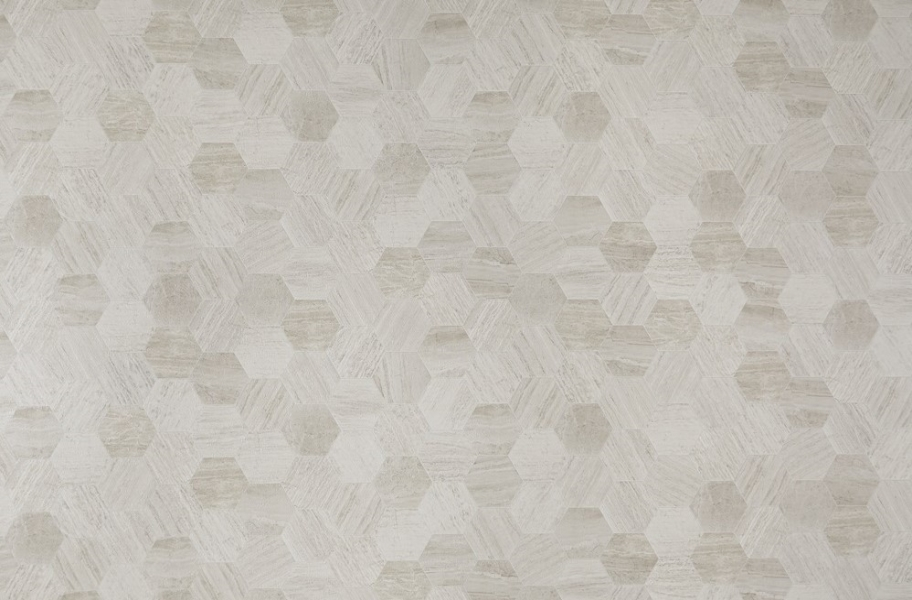 Mannington Benchmark 12' Vinyl Sheet - Penny Lane Granite