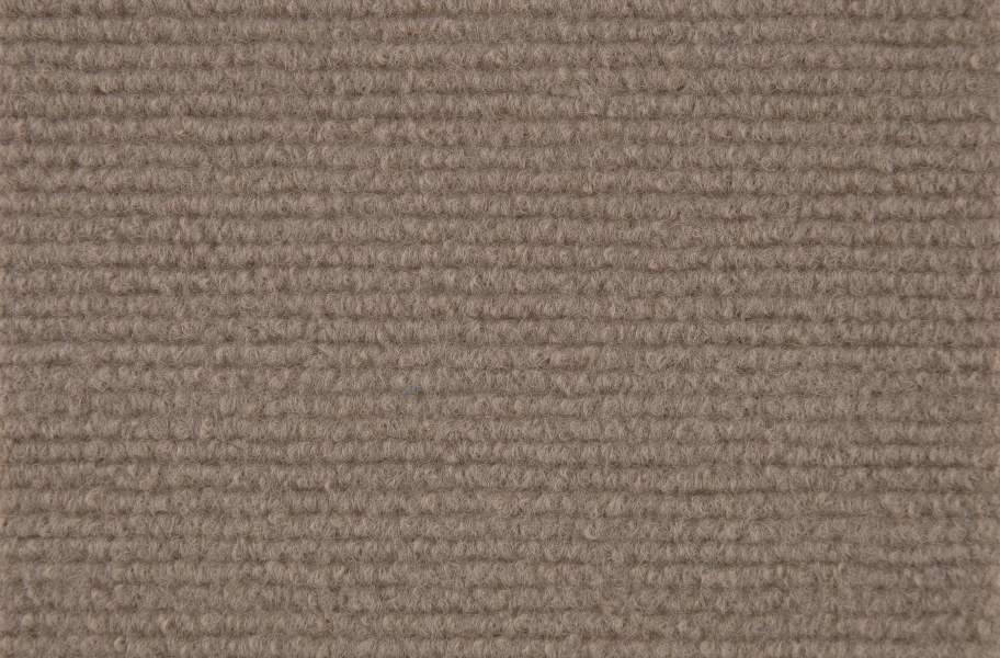 Ribbed Carpet Tile - Quick Ship - Bark