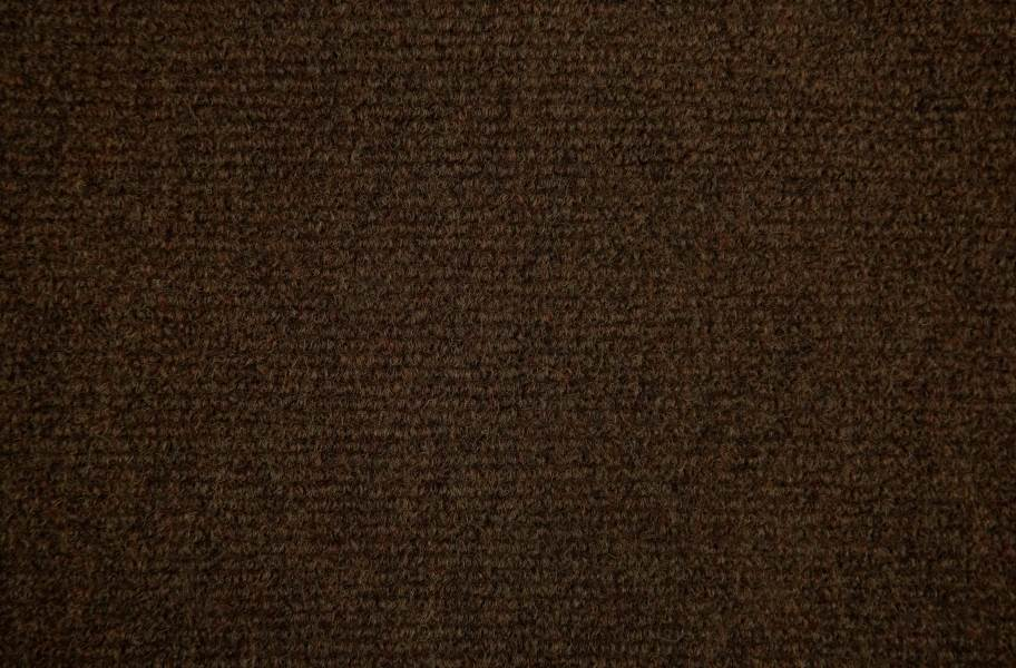 Ribbed Carpet Tile - Quick Ship - Walnut