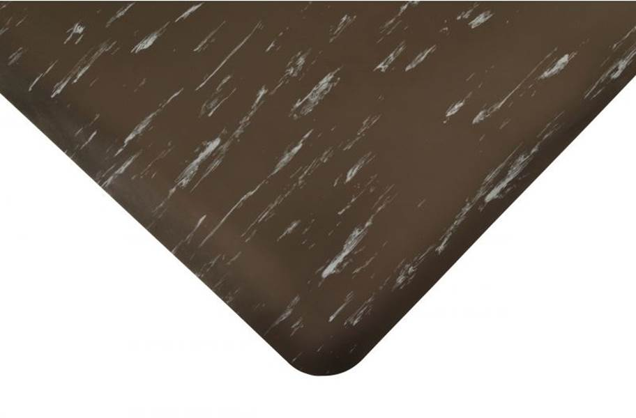 Marble Sof-Tyle Anti-Fatigue Mat - Black