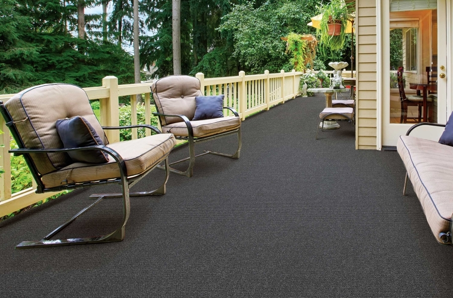 Oceanside Outdoor Carpet - Smoke