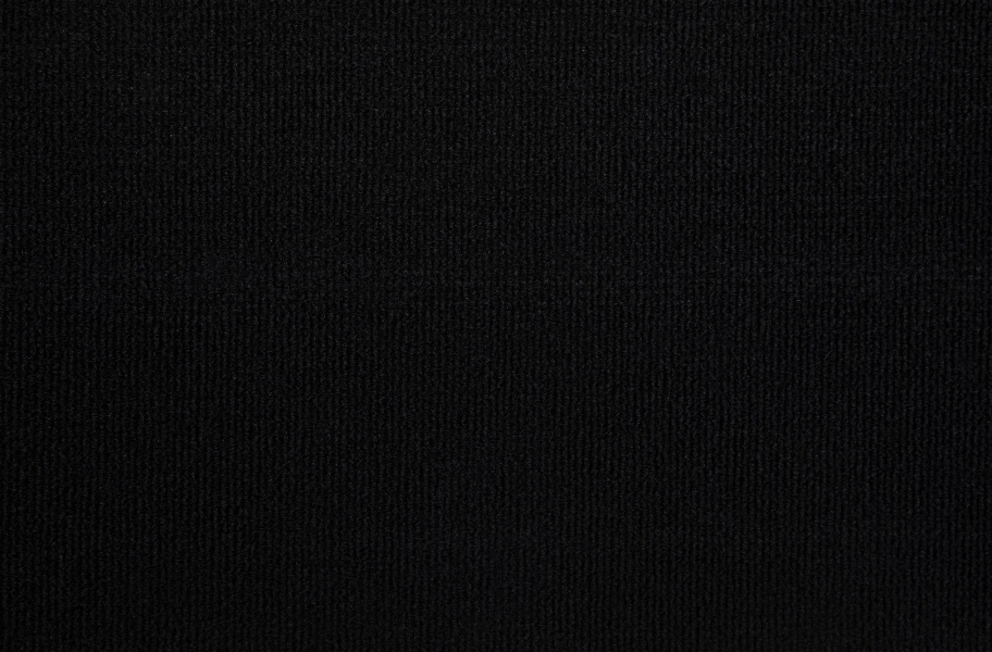 Oceanside Outdoor Carpet - Solid Black