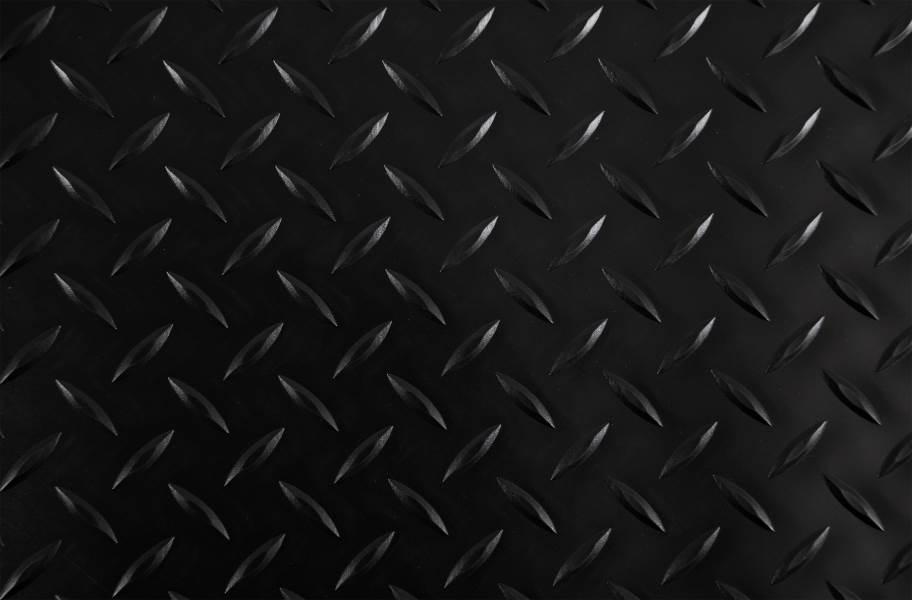Diamond Nitro Garage Floor Mats - Midnight Black