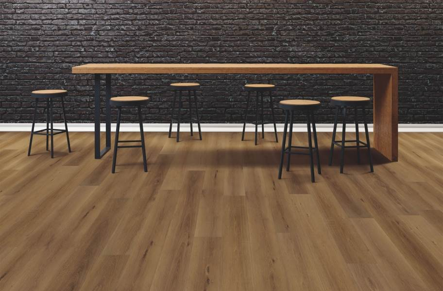 "COREtec Pro Plus HD 9"" Rigid Core Vinyl Planks - Bedford Oak"